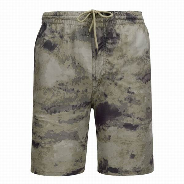 Mens Camouflage Printed Elastic Waist Loose Fit Beach Shorts With ...