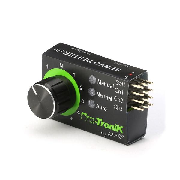 Mini Servo Tester 4.8V To 6.0V - Photo: 3