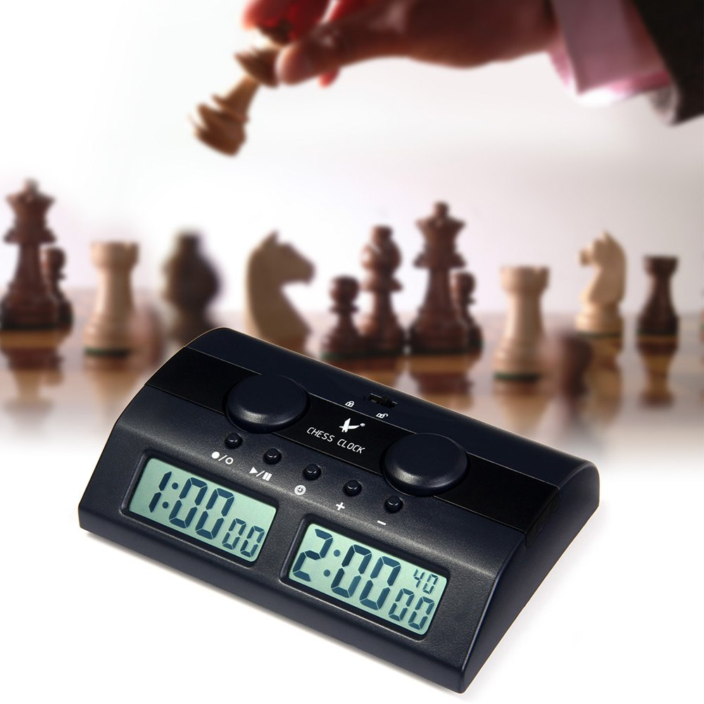Electronic Digital Chess Clock Count Up Down Timer For I Go Sale Banggood Com
