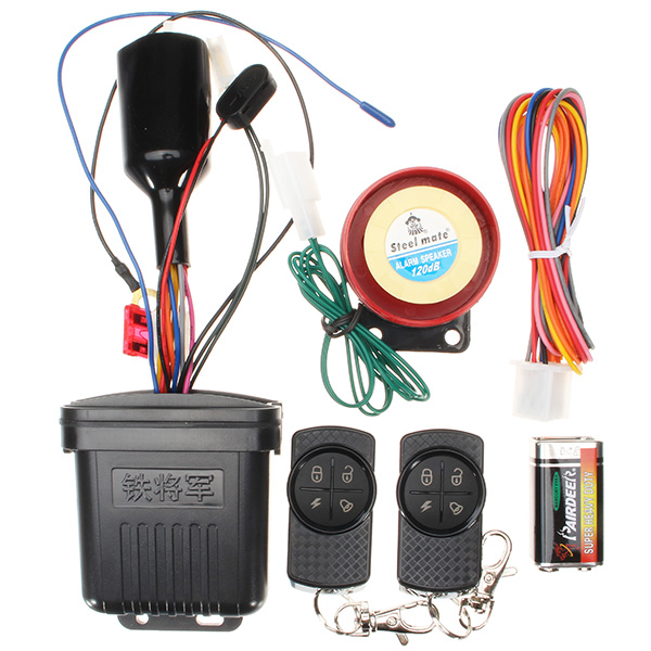 12V 120db Remote Control Motorcycle Bike Anti-cut Line Anti-theft Security Safety Alarm System