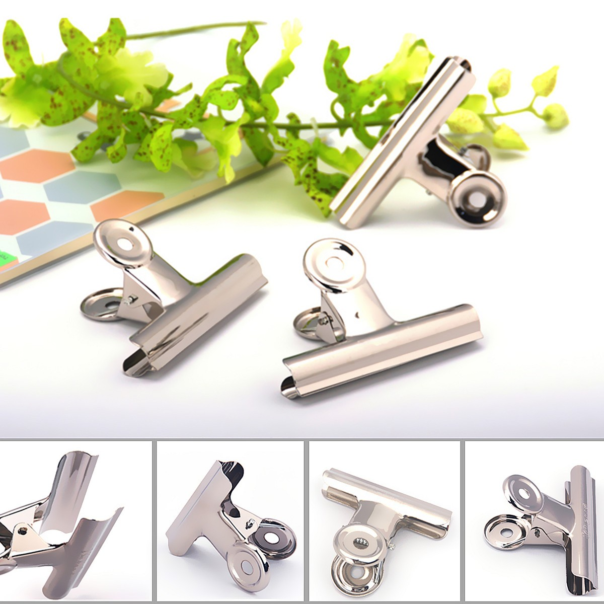 10pcs 31mm Stainless Steel Silver Bulldog Clips Money Letter Paper File Clamps (Eachine1) Cambridge для всех