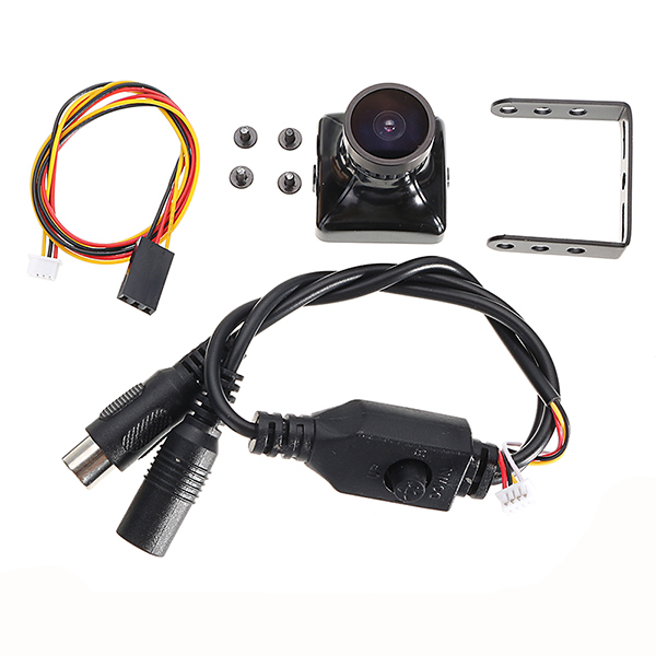 650TVL 2.5mm Lens 1/3'' Super Had II CCD FPV Camera PAL/NTSC for FPV Racing Drone - Photo: 8