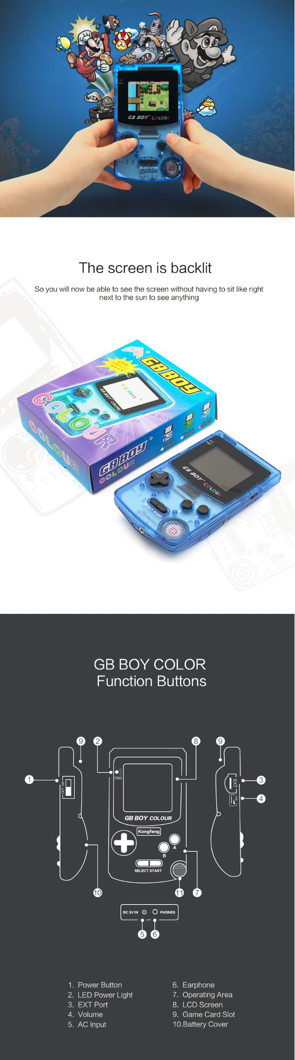 Game boy color list - While The Box Showing 188 Games There Are Only 66 Out Of 188 Are Different Games Games List Is As Bellow