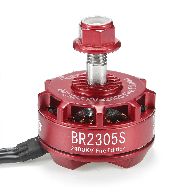 4X Racerstar 2305 BR2305S Fire Edition 2400KV 2-5S Brushless Motor For 210 220 250 300 Racing Frame