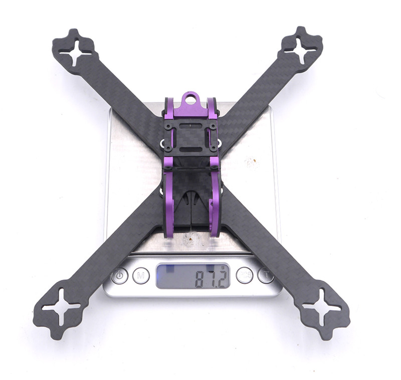 Pelusa XS5 5 Inch 220mm Wheelbase 4mm Arm Carbon Fiber XS Type Racing Frame Kit for RC Drone