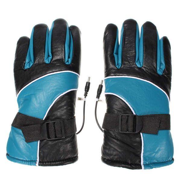48V Scooter Electric Heated Gloves waterproof Warmer For Male And Female