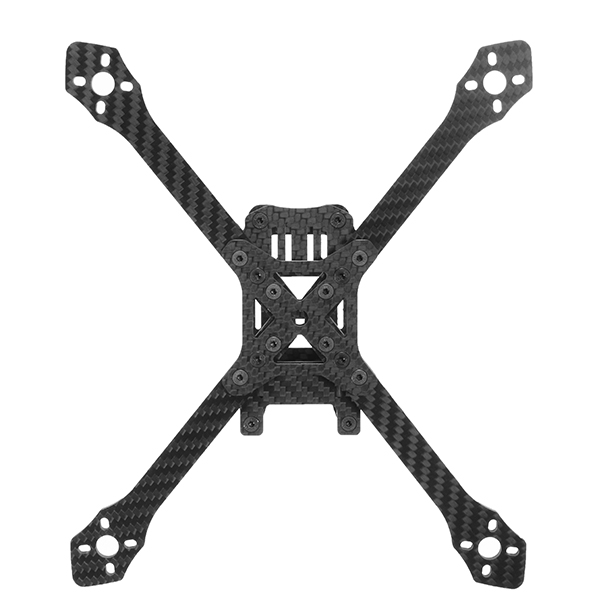 Realacc Angle220 220mm Carbon Fiber X Stretch X Adjustable Frame Kit 4mm Arm Thickness
