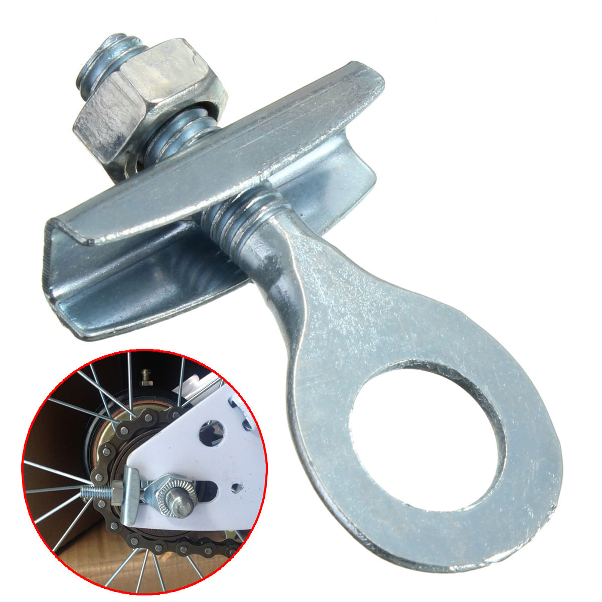 Buy Bike Chain Tensioner Adjuster For Fixie Fixed Gear Single Speed Track Bicycle