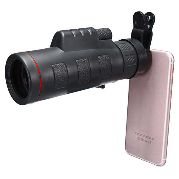 HD Clip-on 35 X 50 Optical Zoom Telescope Camera Lens For ...