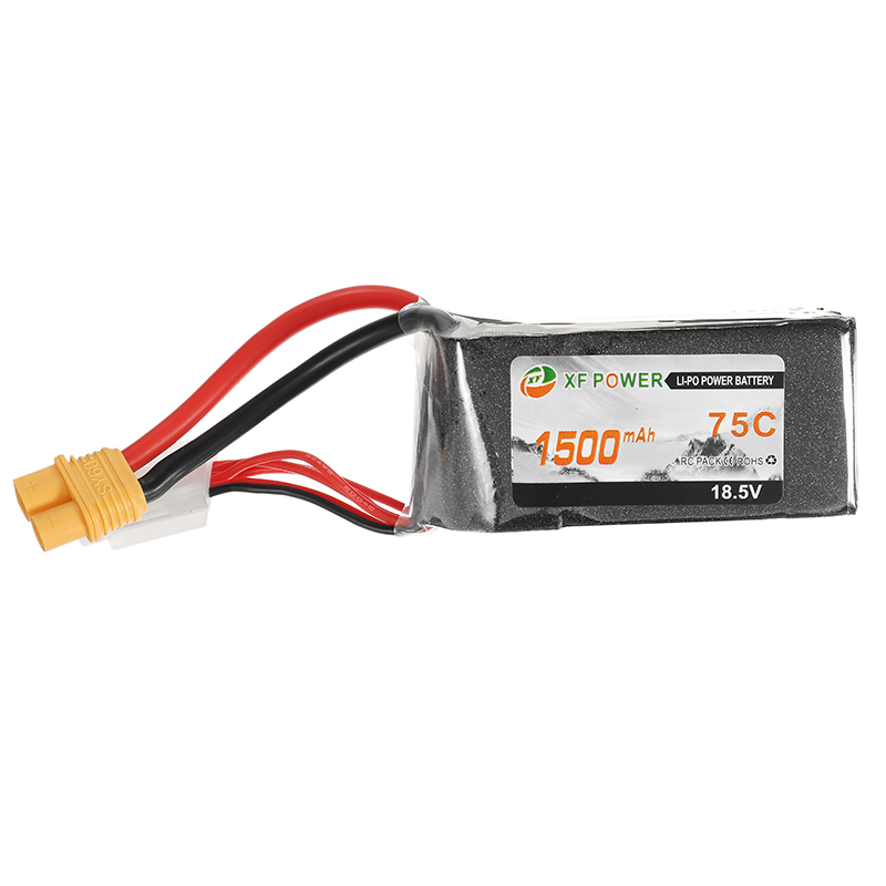 XF Power 18.5V 1500mah 75C 5S Lipo Battery SY60 Plug