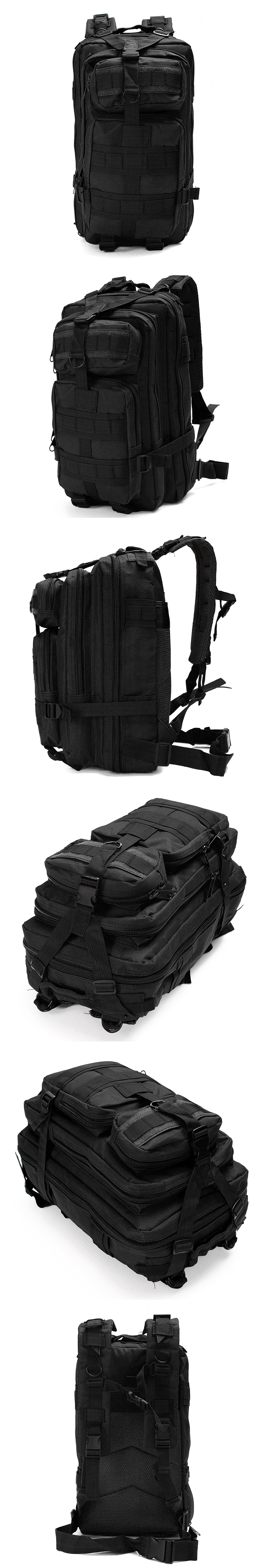IPRee 30L Outdoor Sac à dos tactique Sac à dos Camping Randonnée Trekking sac à bandoulière