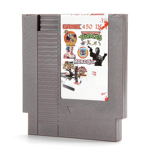 450 in 1 Super Game 72 Pin 8 Bit Game Card Cartridge for NES Nintendo