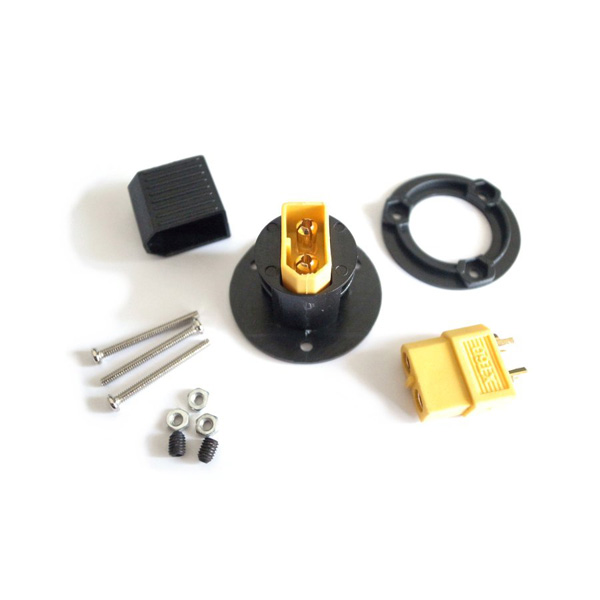 Nylon XT60 Connector Panel Mounting Kit for RC Model