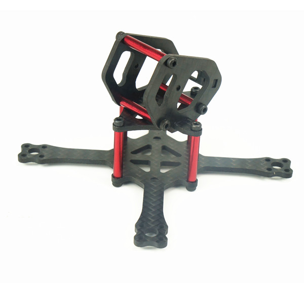 16g Cobra 88 88mm 3K Carbon Fiber Racing Frame Kit for Mini Drone