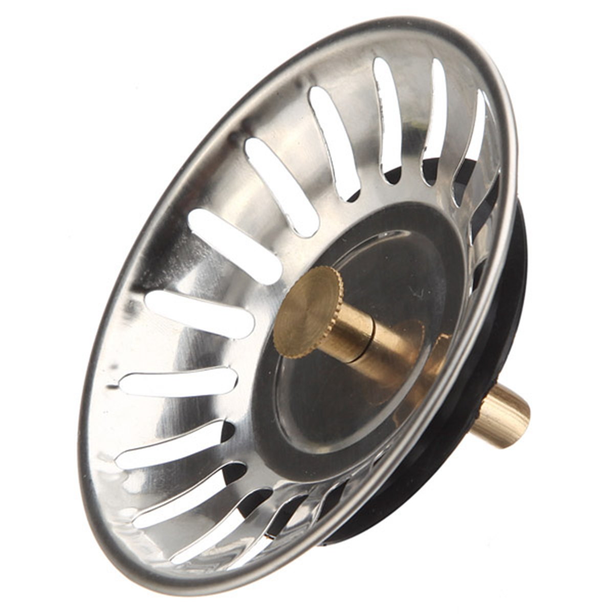 McAlpine Stainless Steel Kitchen Sink Drain Strainer Waste Plug Drain  Stopper Filter