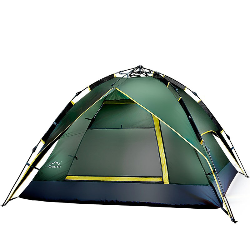 Outdoor 2 Persons Tent Sunshade Automatic Double Layer Canopy Rainproof Anti-UV Sun Shading Shelter