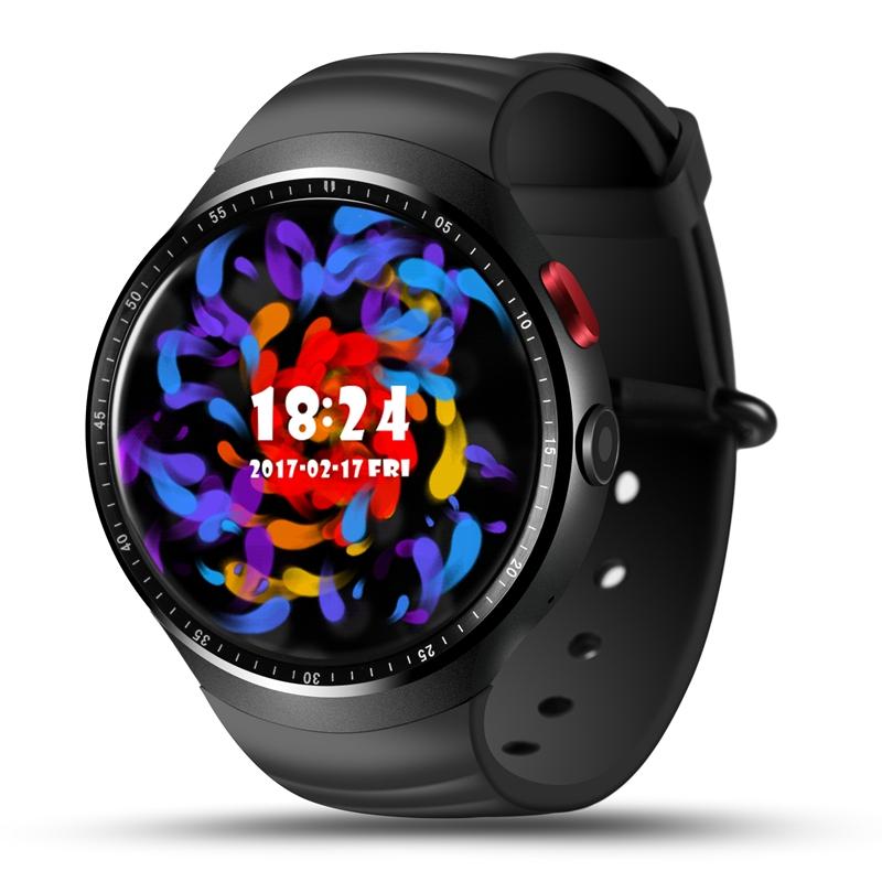 LEMFO LES Reloj  Pulgadas AMOLED Circular Pantalla de Moda GB ROM