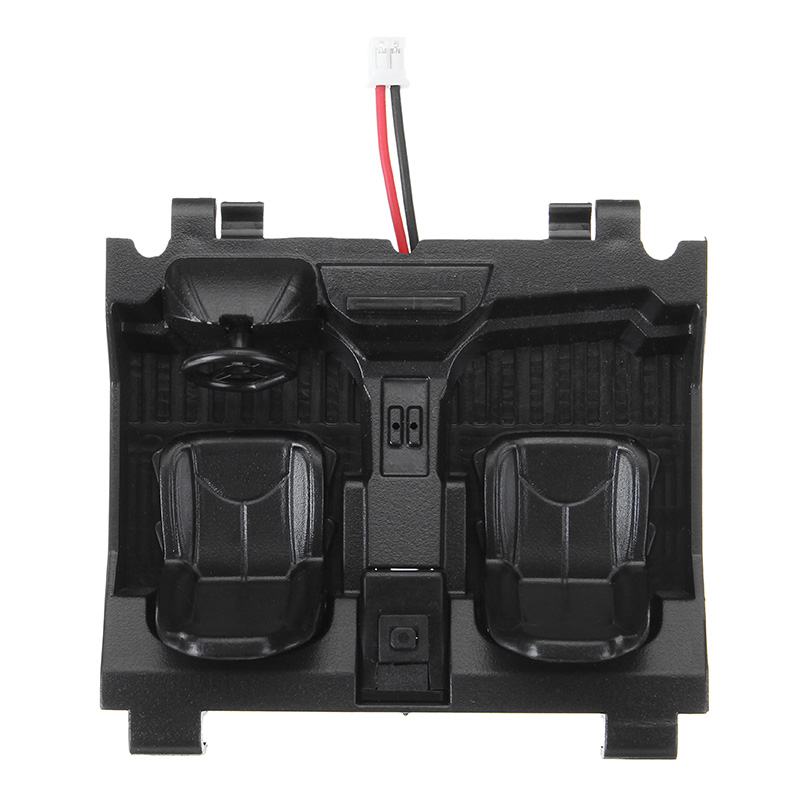 Cockpit And Switch For PRC 1/18 RC Crawler QX-4 Remote Control Car Bulk Parts