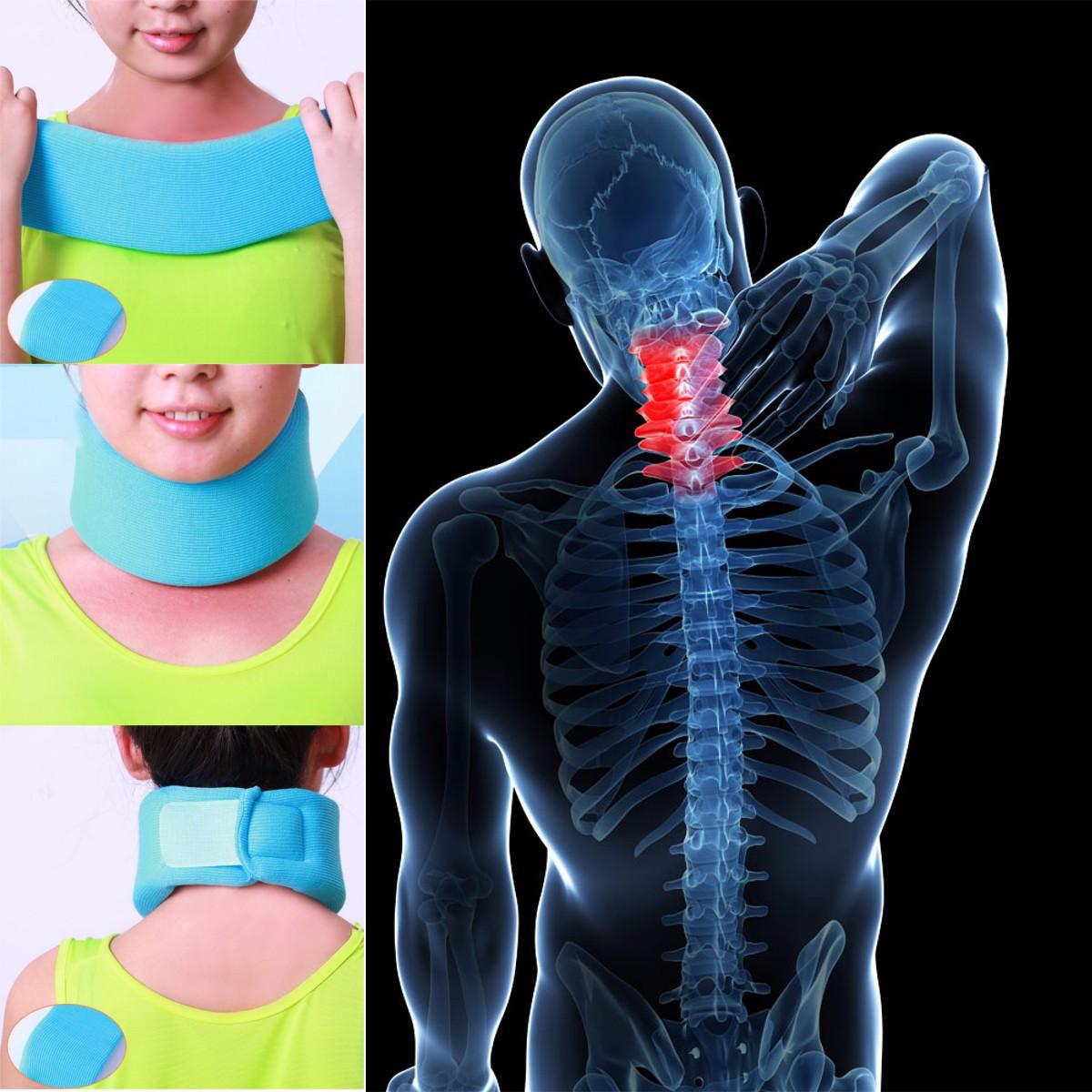 Sponge Neck Support Brace Cervical Collar For Pain Relief