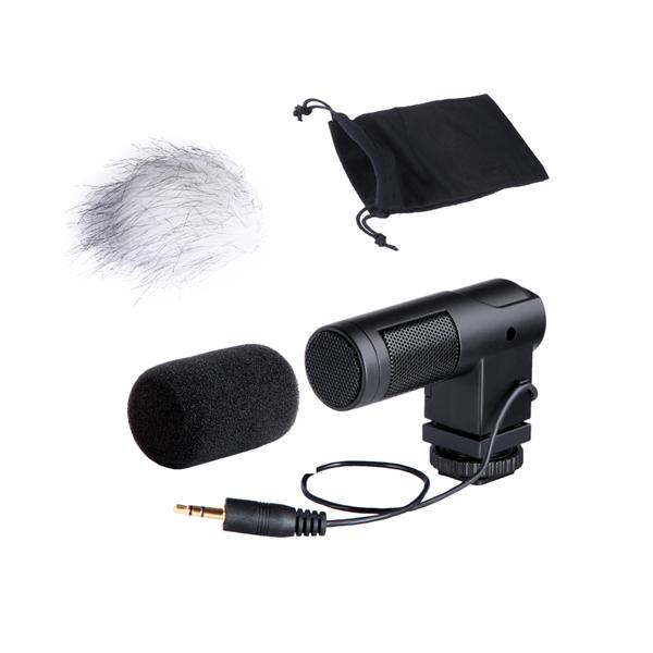 BOYA by v estéreo x  y mini micrófono condensador para Canon