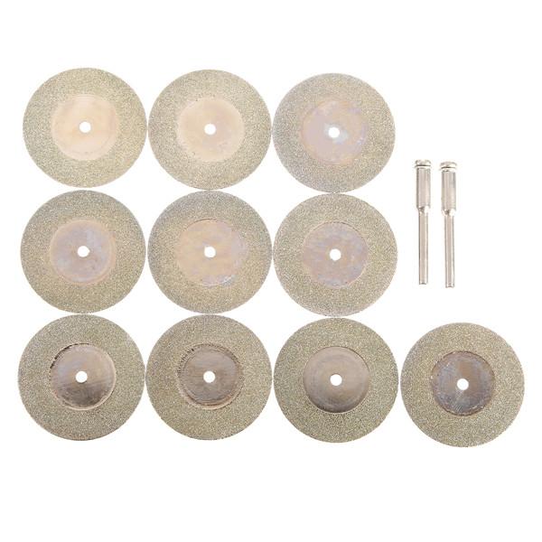 Buy 135mm Diamond Grinding Wheel Cutting Discs Circular Saw Blades with 2 Mandrels