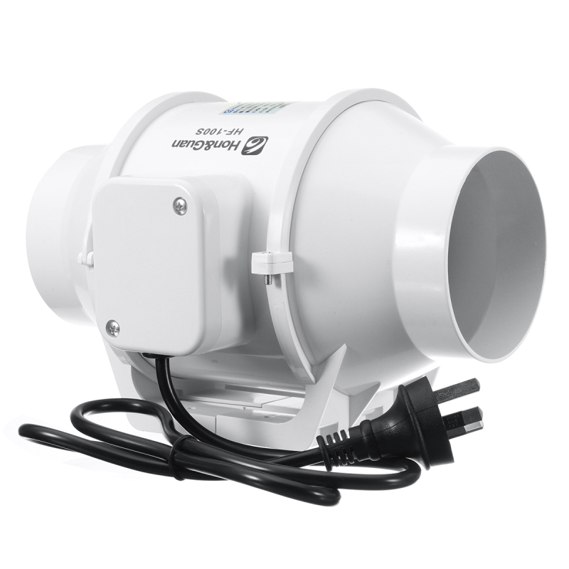 4/6/8 Inch Vent Inline Ventilation Tube Duct Fan Air Blower W/ Speed Controller