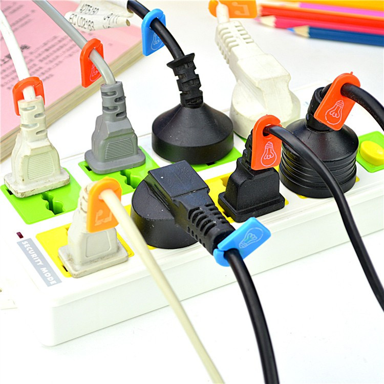 6 Pieces Boomray Cc 581 Tpr Cord Winder With Category