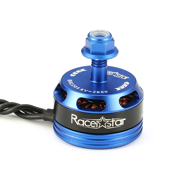 Racerstar Racing Edition 2205 BR2205 2600KV 2-4S Brushless Motor CW/CCW Dark Blue For QAV250 ZMR250  - Photo: 3