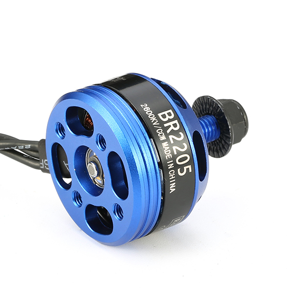 Racerstar Racing Edition 2205 BR2205 2600KV 2-4S Brushless Motor CW/CCW Dark Blue For QAV250 ZMR250  - Photo: 10