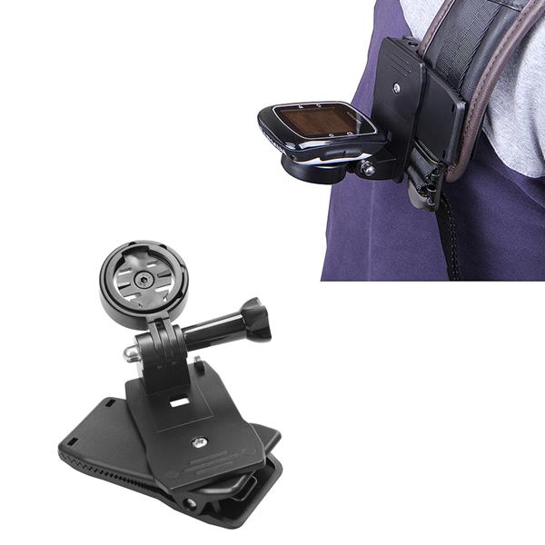 Holder Clip 360 Degree Bag Strap Quick Release Clip for Garmin Edge GPS