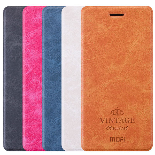 MOFI Luxury Card Wallet Stand Smart Sleep Leather Flip Case For Xiaomi Redmi Note 4