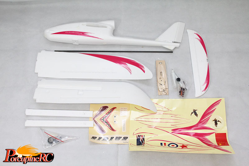 Skywalker Sirius 1500mm Wingspan EPO Electric FPV RC Glider Airplane PNP - Photo: 9