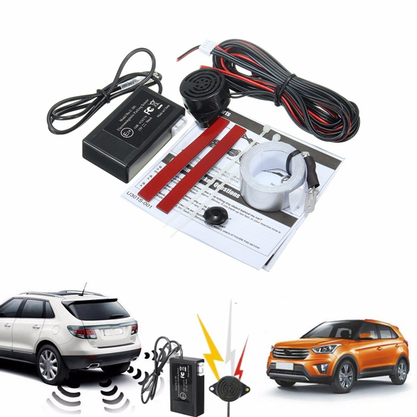 Car Electromagnetic Parking Reversing Reverse Backup Radar Sensor DC 12V