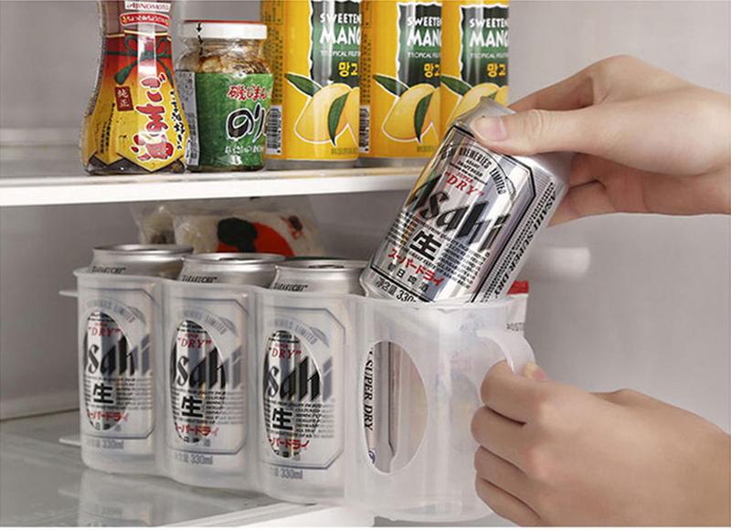 Kühlschrank Organizer Flaschen : Honana cf kt dosen aufbewahrungsbox kühlschrank kühlschrank