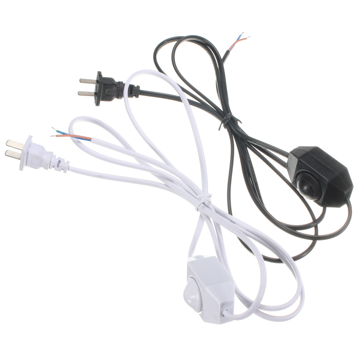 White Black Awg Switch Dimming Cable Light Modulator Lamp