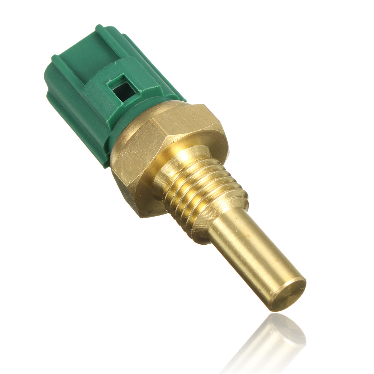 Engine Coolant Temperature Sensor Green Color Placement On Front Vehicle