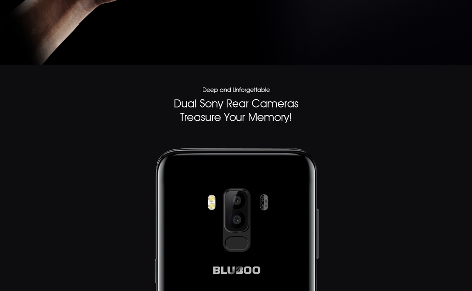 Bluboo S8 5.7-дюймовые двойные задние камеры Android 7.0 3GB RAM 32GB ROM MTK6750T Octa-Core 1.5GHz 4G Smartphone