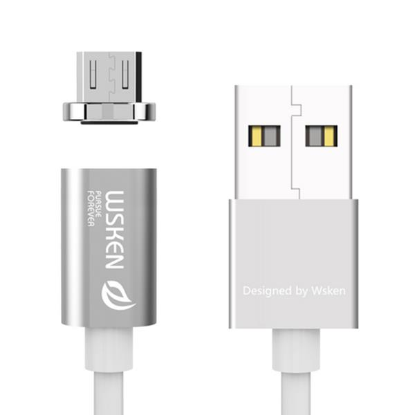 WSKEN Magnetic MINI1 2A Micro USB Charging Cable for Mobile Phone