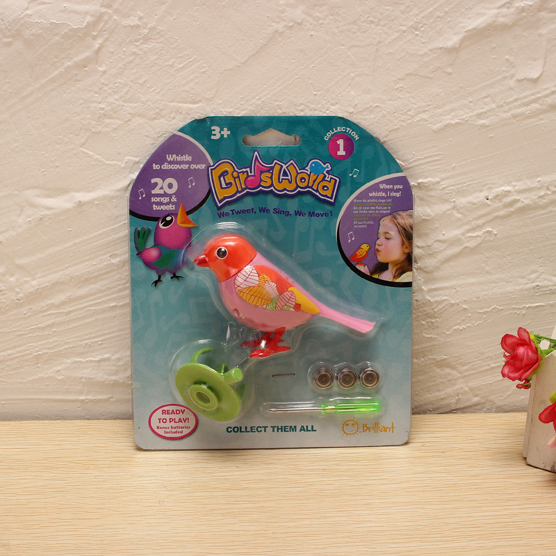 Voice Birds Whistles Induction Companion Bird Children Toys Random Color - Photo: 7