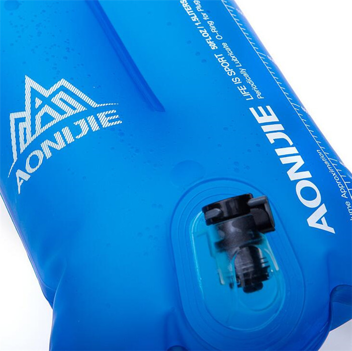 AONIJIE 1.5L 2L Drinking Water Bladder Bag Sports Folding TPU Hydration Pack For Running Climbing