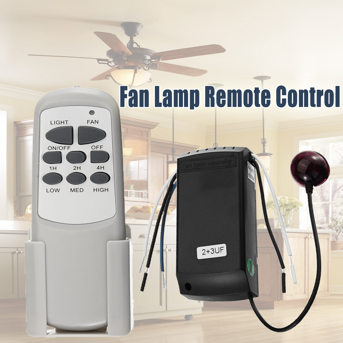 light lamp remote control switch ceiling fan light lamp remote controller control kit. Black Bedroom Furniture Sets. Home Design Ideas