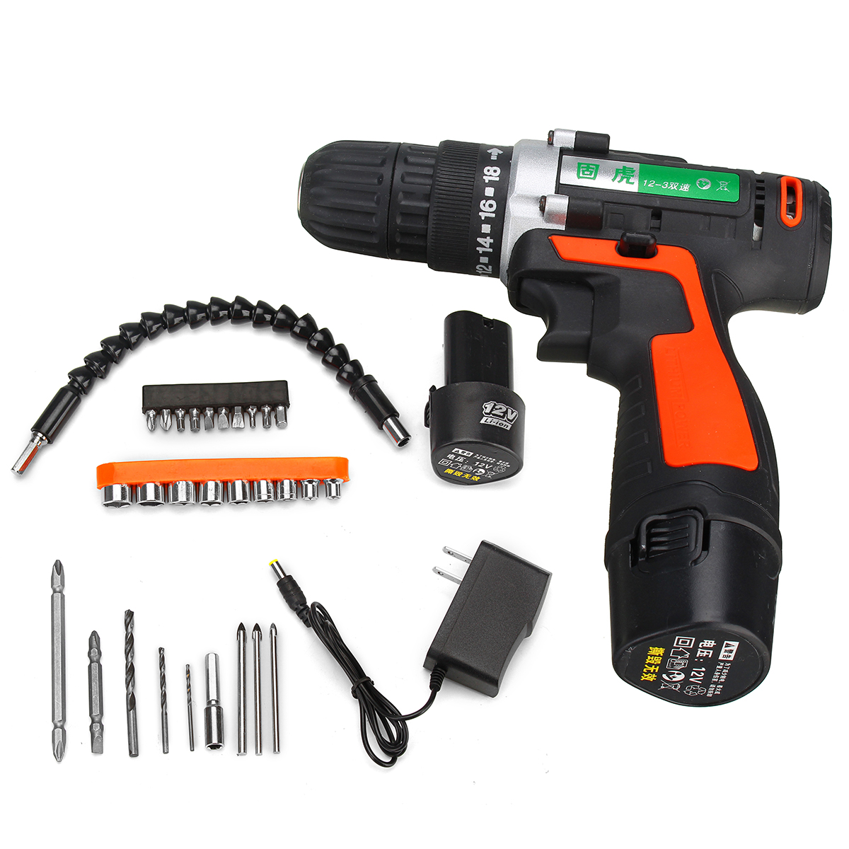 Cordless Drill Driver Drill Power Driver Screwdriver Electric Screwdriver With Li-Ion Battery