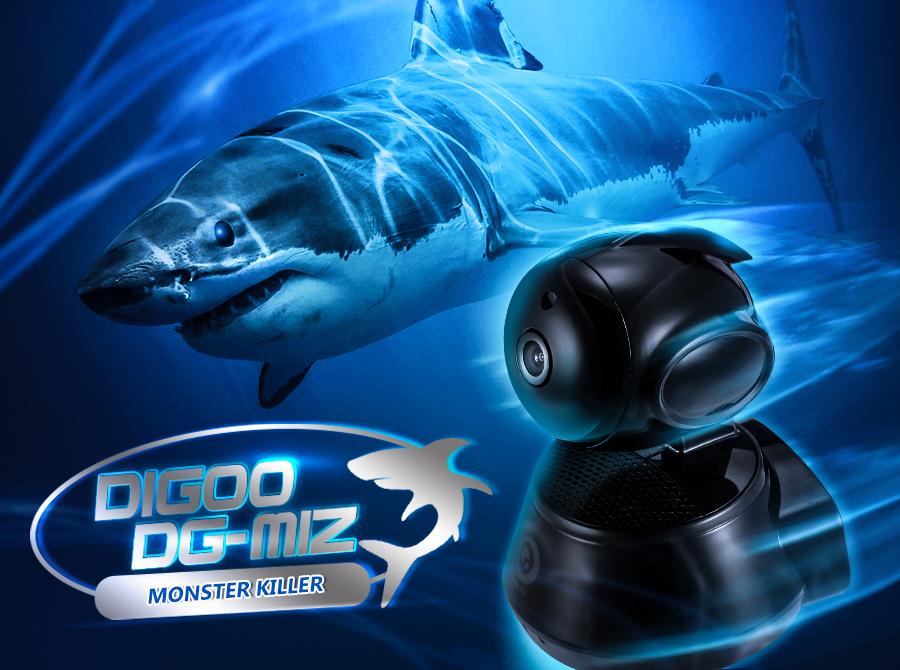 Digoo DG-M1Z 1080P SHARK 2 8mm 5 0MP Lens Super Ultra Clear Wired