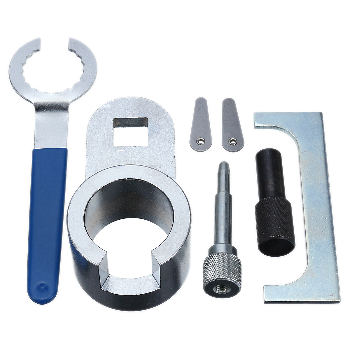 Timing Locking Tool Kit For Engine Adjustment Camshaft Crankshaft Carbon Steel