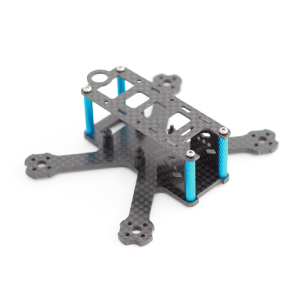 A-Max 98H Nano QAV-R 98mm Wheelbase Carbon Fiber FPV Racing Frame Kit support Runcam Micro Swift
