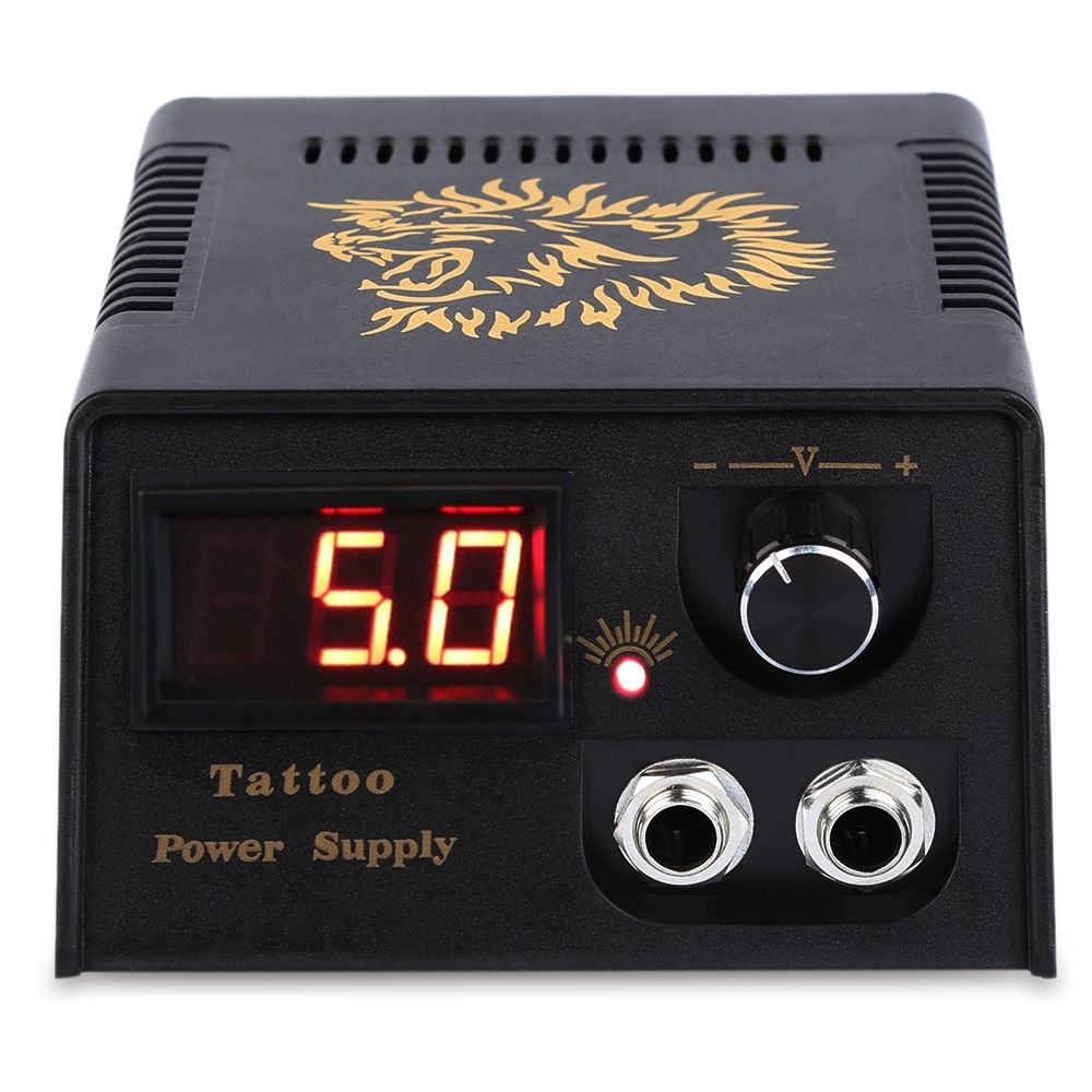 LCD Professional Tattoo Digital Dual Power Supply For F