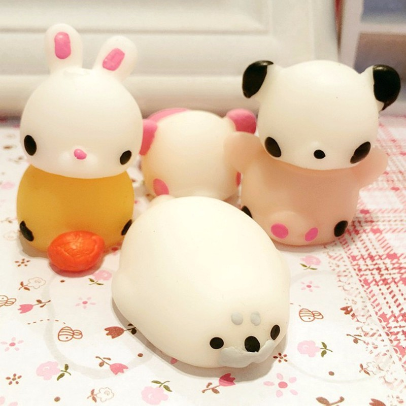 Bunny Rabbit Squishy Squeeze Cute Healing Toy Kawaii Collection Stress Reliever Gift Decor Sale ...