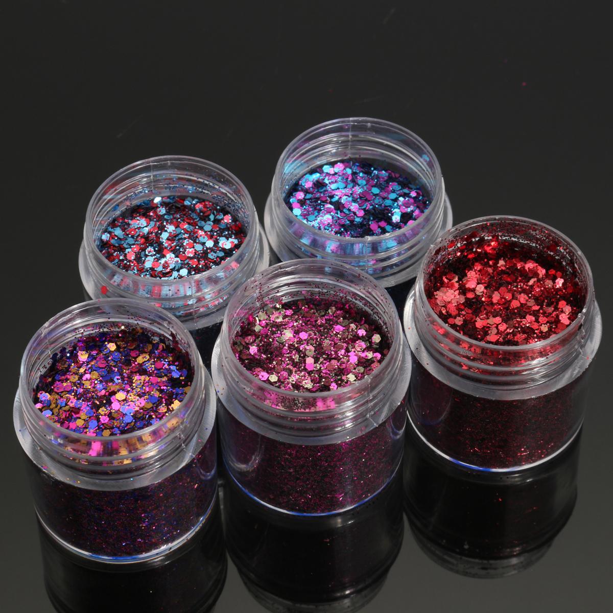 Shining Mixed Glitter Powder Sequins Decoration 3D Dust ...