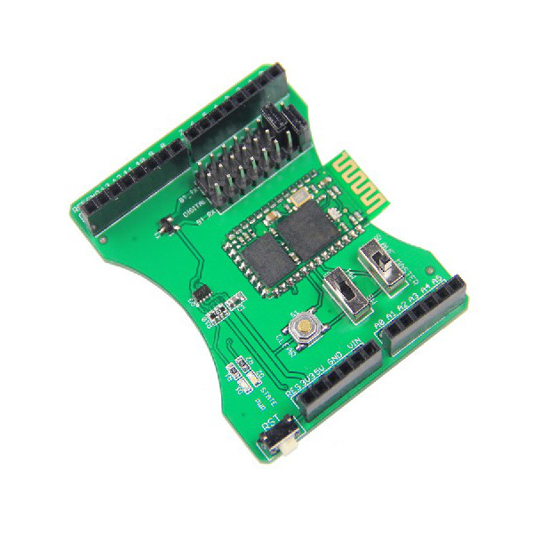 Stackable bluetooth shield expansion board for