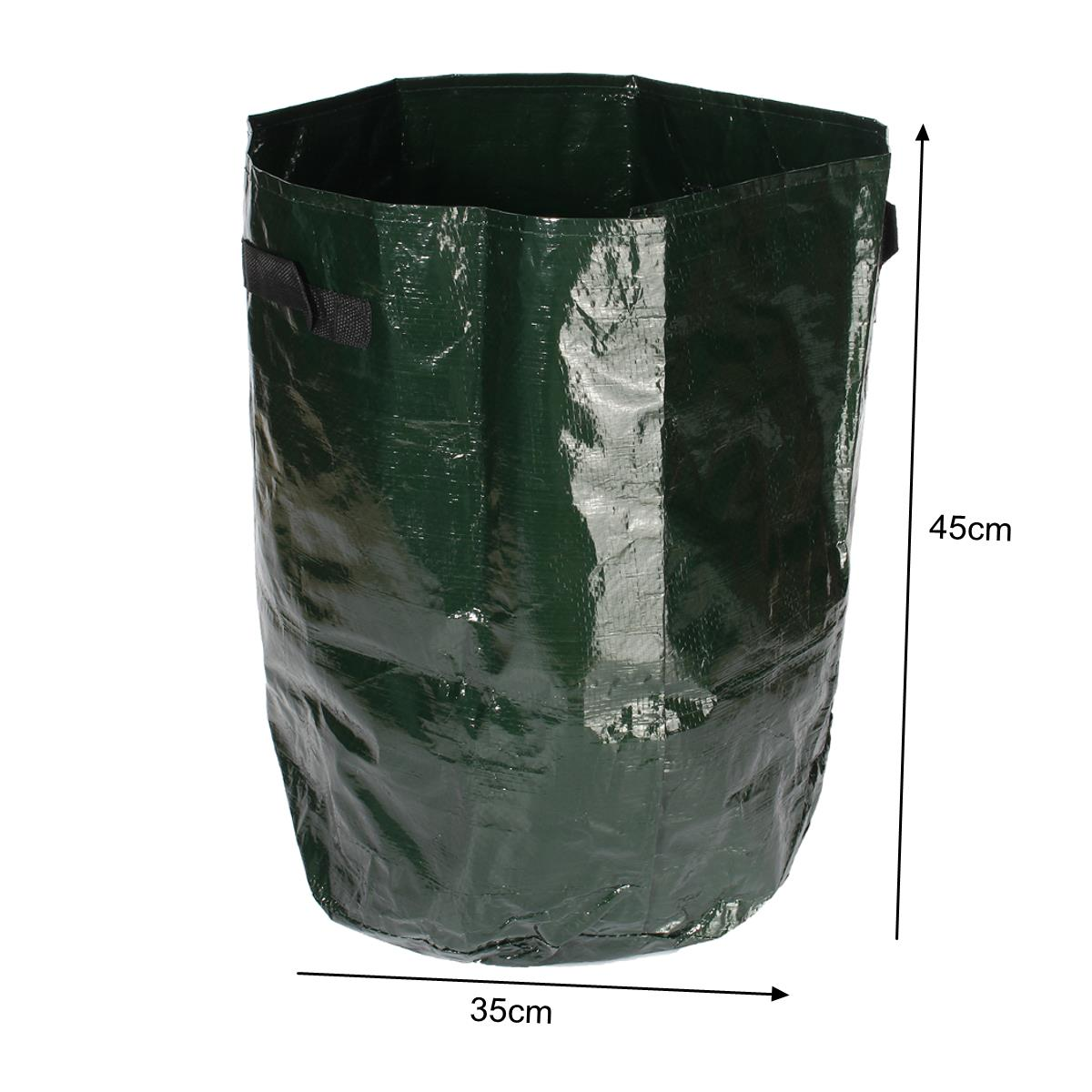 2pcs Graden Vegetable Grow Planter Balcony Potato Cucumber Planting Bags